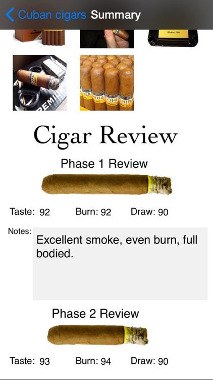 Cigar Review Pro screenshot-4