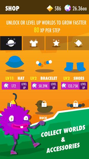 Wokamon - Fitness Game Screenshot