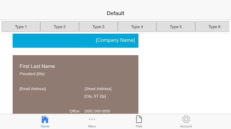Business Cards screenshot-3