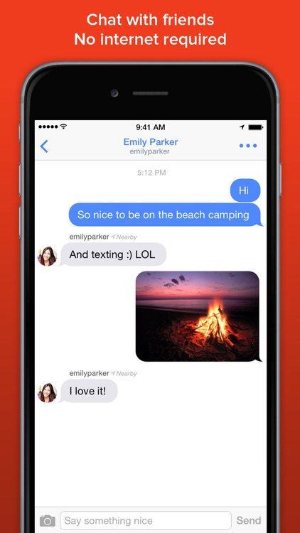 FireChat screenshot-1