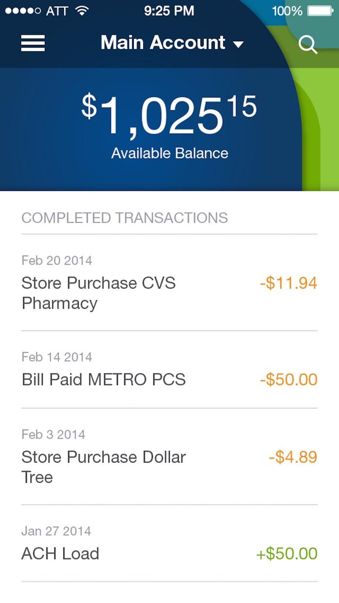 Bluebird by American Express Screenshot