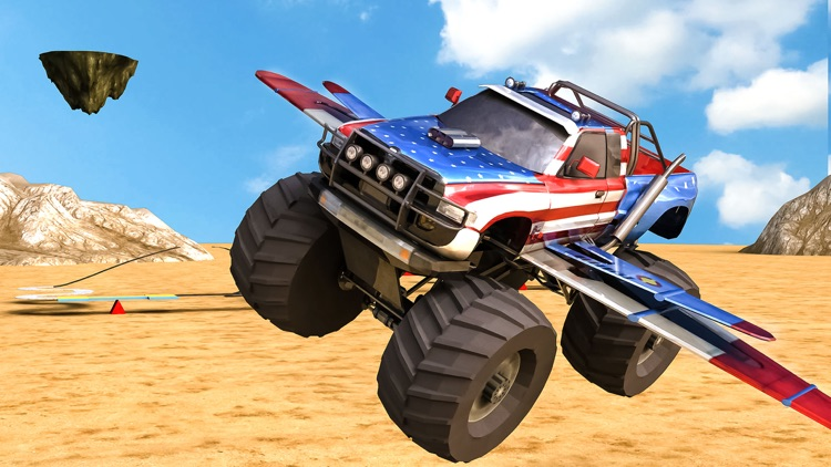 Realistic 3D Monster Truck Park Free Racing Game