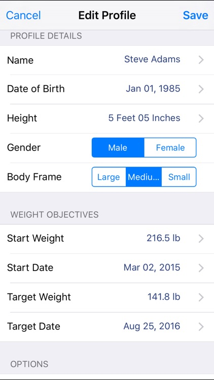 Monitor Your Weight screenshot-4
