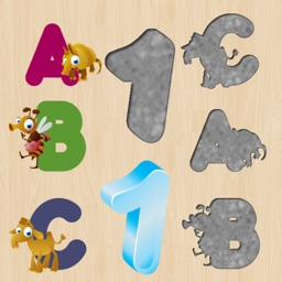 Alphabet Puzzles for Toddlers and Kids : Learn English !