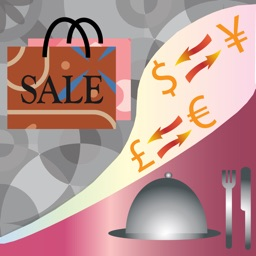 ShopNDineCal – sales and tip calculator with currency converter