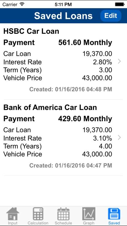 Car Loan Calculator Plus screenshot-4