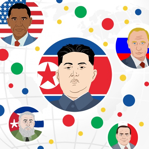 Presidents War: Eat Dot Game - multiplayer cell eater in paradise hocus