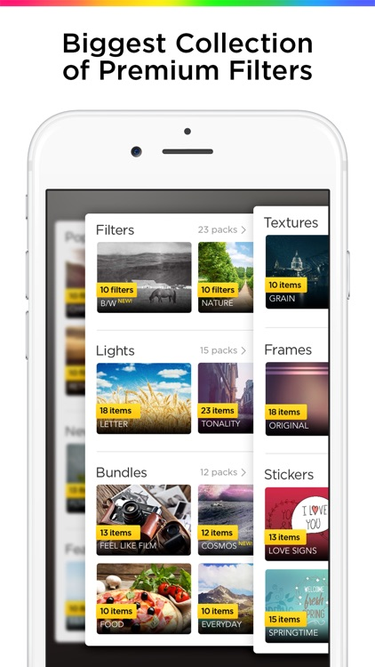 Filterra – Photo Editor, Effects for Pictures app image