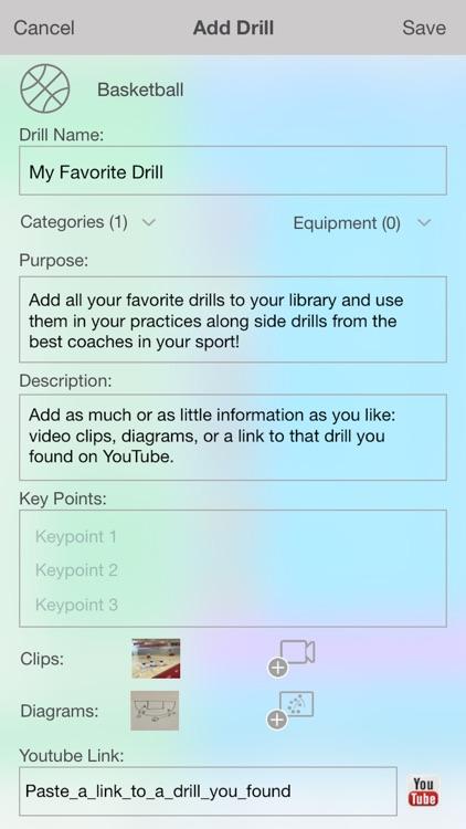 iPracticeBuilder - 25 Sports screenshot-4