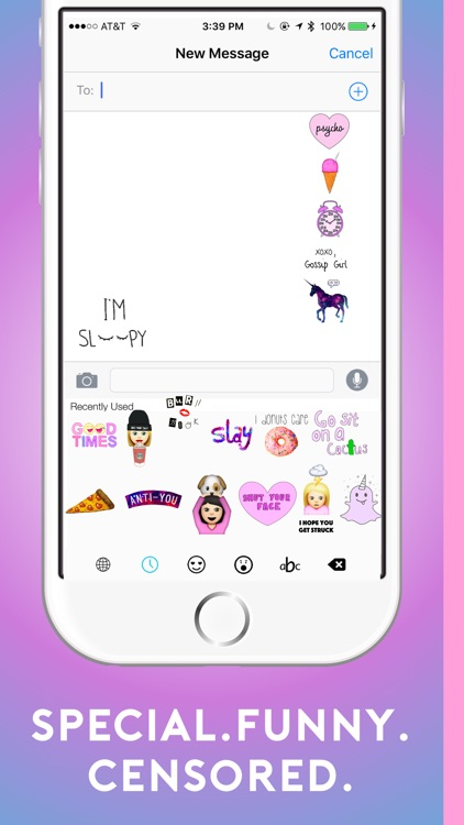 Baemoji - Bae Emoji & Sticker Keyboard for Texting Girls Cute Icons