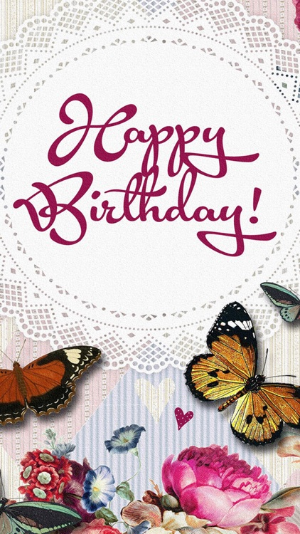 Birthday Greeting Cards - Happy Birthday Greetings & Picture Quotes screenshot-4