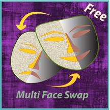 Multi Face Swap HD - get the real fun started