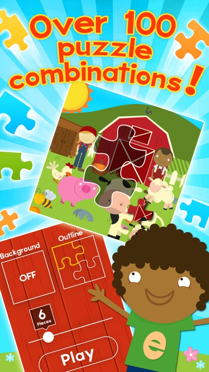 Farm Games Animal Games for Kids Puzzles for Kids screenshot-4