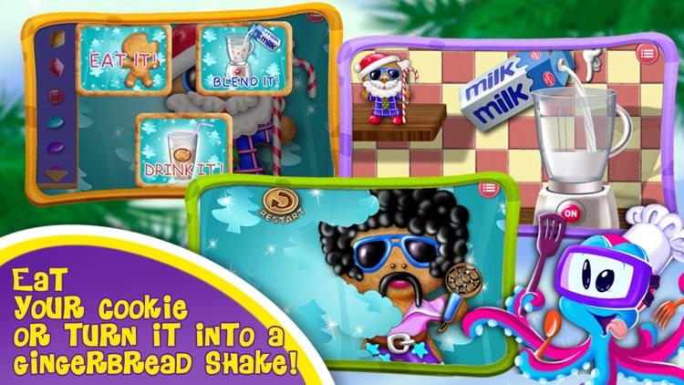 Gingerbread Crazy Chef - Cookie Maker screenshot-3