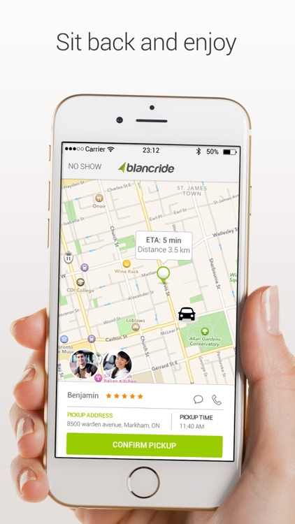 BlancRide – Social Transportation Network screenshot-4