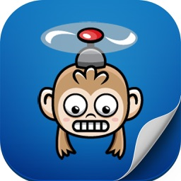 Monkey Copter Flappy Fly : The Monkey Copter Is Fly In Adventure World Flap Your Wings Of A Monkey Copter And Avoid Obstacles For Kids & Adults Classic Wings