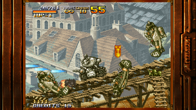 Screenshot from METAL SLUG 1