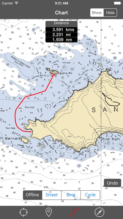 Channel Islands (California, USA) - Raster Nautical Charts screenshot-0