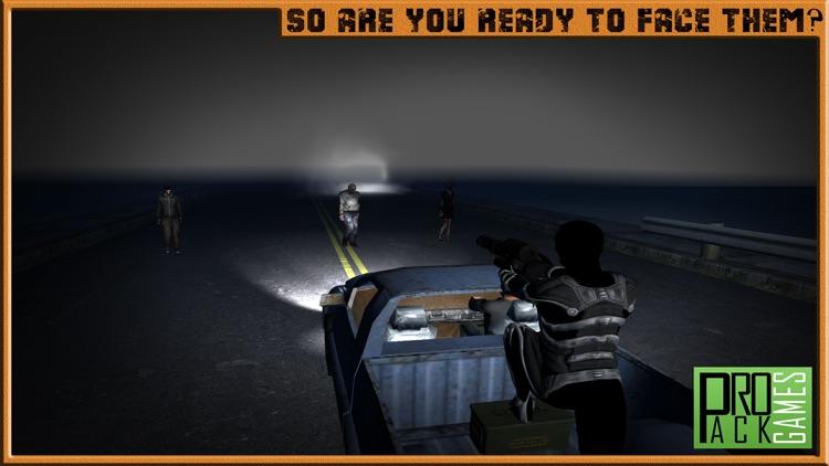 Zombie Highway Apocalypse Shooter - Shoot and kill the walking dead screenshot-4