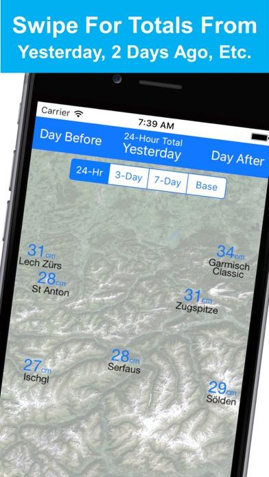 Alps Snow Map - Snow Reportsのおすすめ画像5