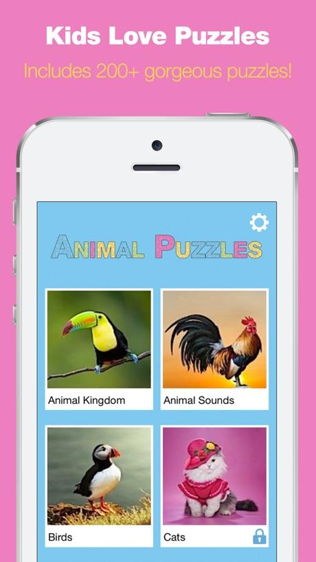 Toddler Animal Puzzles