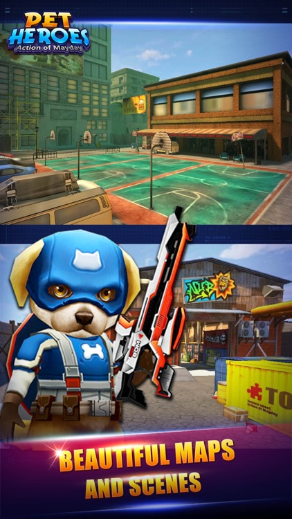 Action of Mayday: Pet Heroes screenshot-3