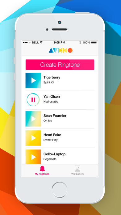 Audiko Ringtones for iPhone PRO