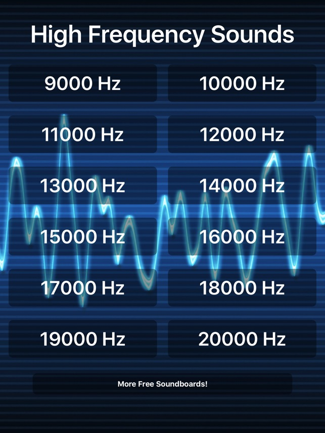 High Frequency Sounds on the App Store