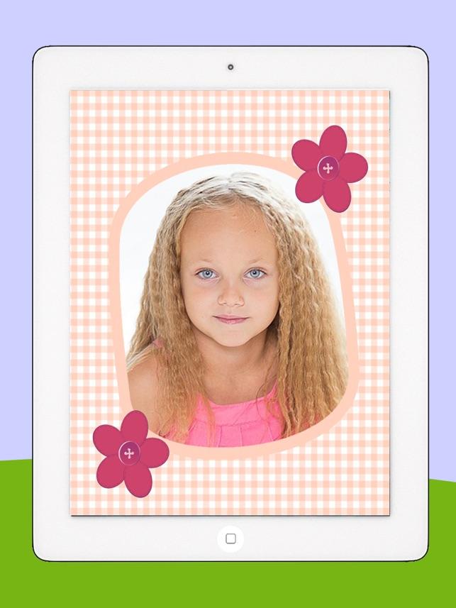 Fotorahmen für Kinder mit Kinderzeichnungen - Prämie im App Store