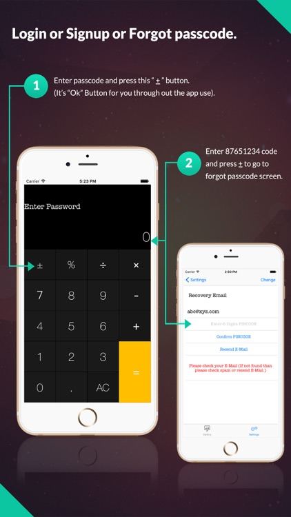 Private Calculator Lock: Secure Photos and Videos Vault by