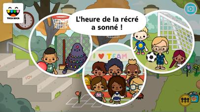 Screenshot for Toca Life: School in Lebanon App Store