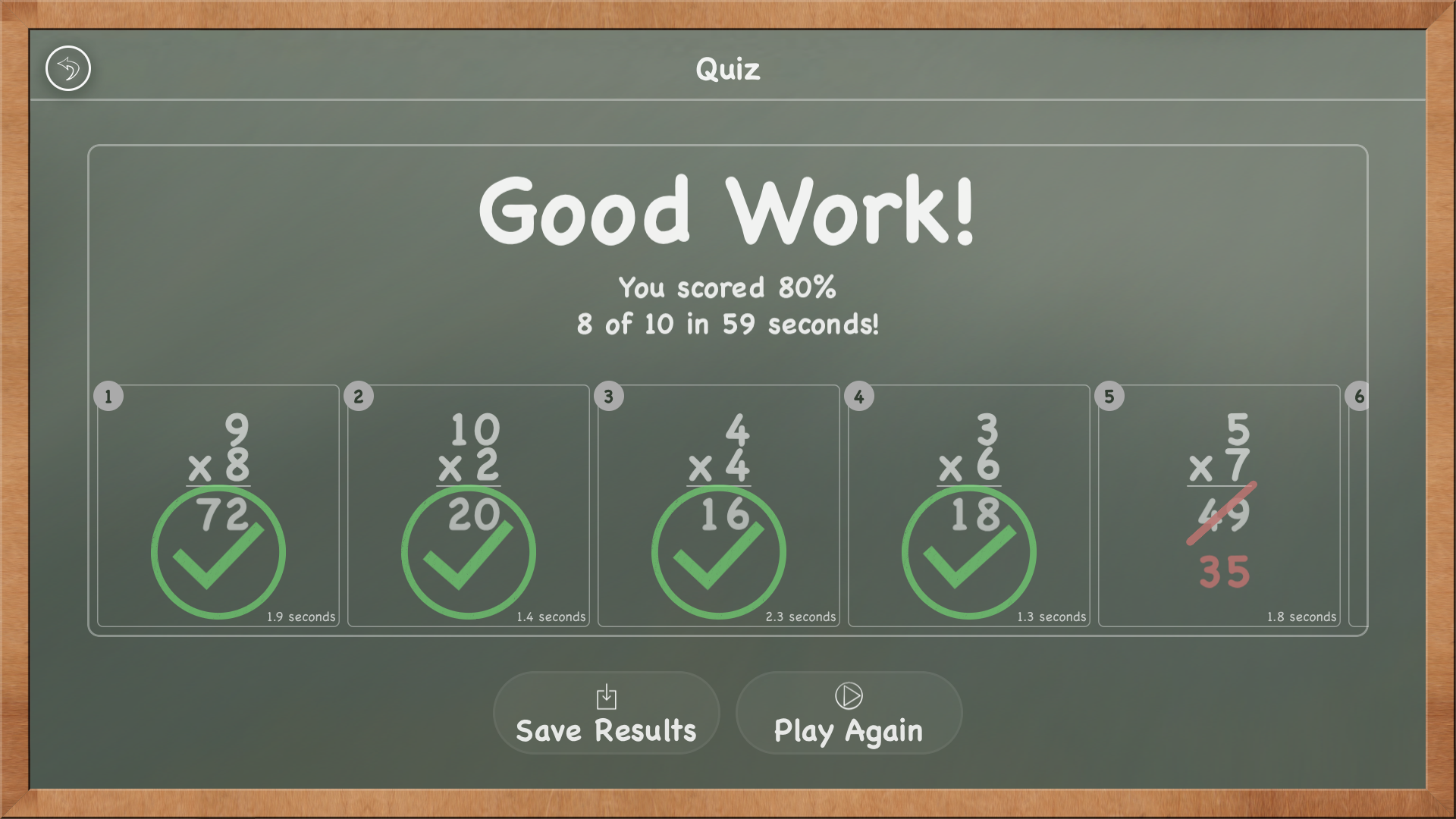 MathBoard TV screenshot 1