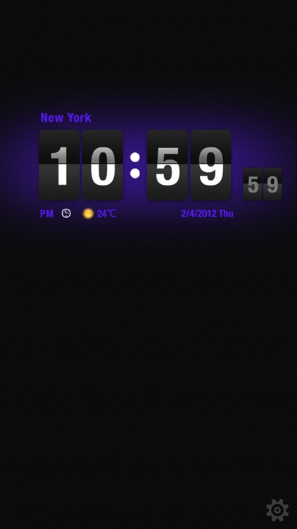 Flip Clock HD screenshot-3