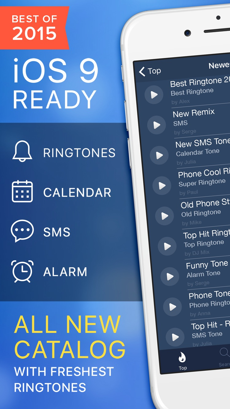 Ringtones for iPhone Free with Ringtone Maker.
