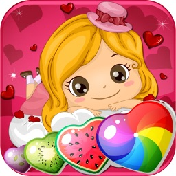 Fruit Heart Sweet Charm Heroes 3 Match Valentine Day