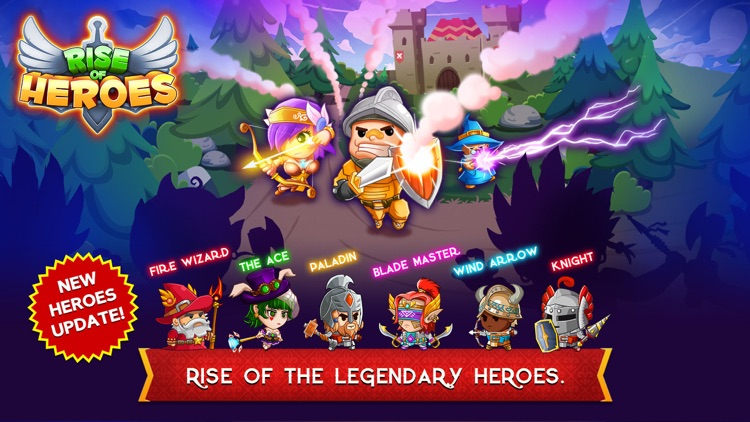 Rise of Heroes screenshot-0