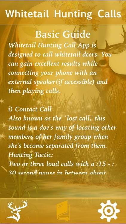 Whitetail Hunting Calls! screenshot-3