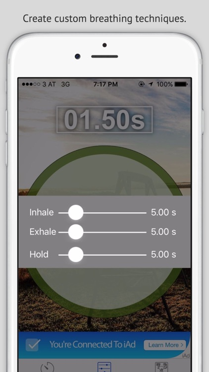 RelaXhale - Relaxing, Calming breathing exercise to reduce stress [Free] screenshot-3