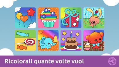 Screenshot of Toonia Colorbook - libro da colorare per bambini - applicazione gratuita3