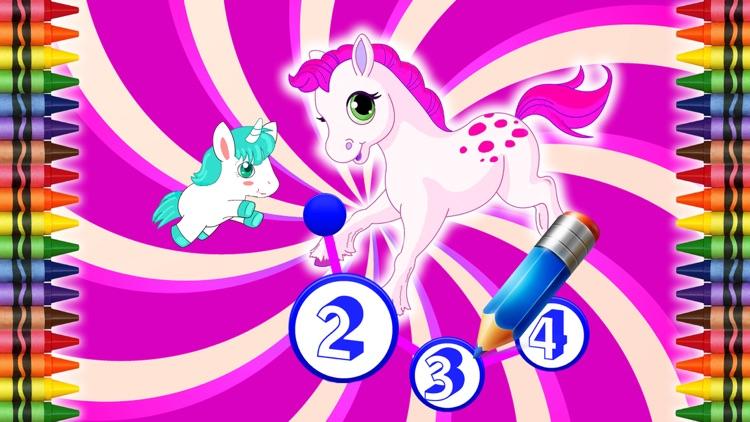 Ponys Connect The Dots + Paint