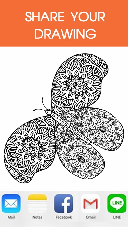 Mandala Coloring Book - Adult Colors Therapy Free Stress Relieving Pages Free screenshot-4