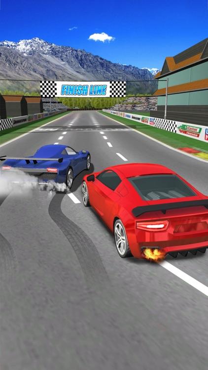 Turbo Sports Car Racing Game - Challenging Thumb Car Race 3D 2016 screenshot-0
