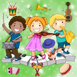 Music Games for Toddlers and Kids : discover musical instruments and their sounds !