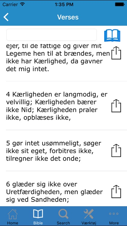 Bibelen på Dansk (The Holy Bible in Danish) screenshot-3