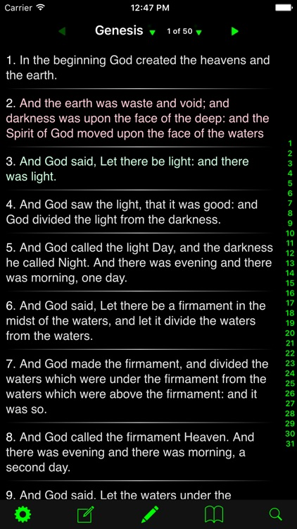 Holy Bible - (King James Version & American Standard Version) screenshot-3