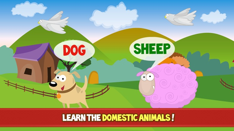 Farm Adventure for Kids - Educational game with animals and letters for children, toddlers, babies, boys and girls screenshot-4