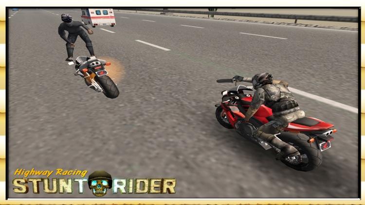 Highway Racing Stunt Rash screenshot-4