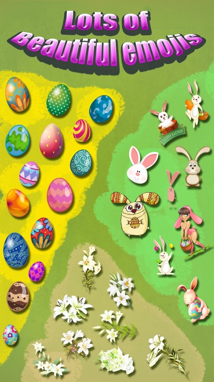 Happy Easter Emoji.s - Holiday Emoticon Sticker for Message & Greeting