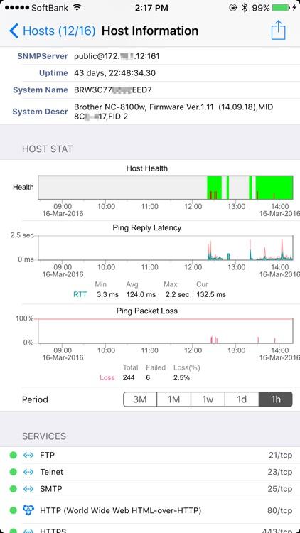 NetAdmin - Wi-Fi network scanner