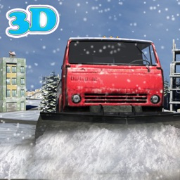 Snow Plow Truck Driver 3d simulator game